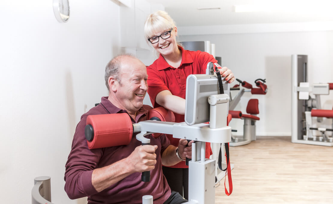 Klinik am Osterbach Physiotherapie